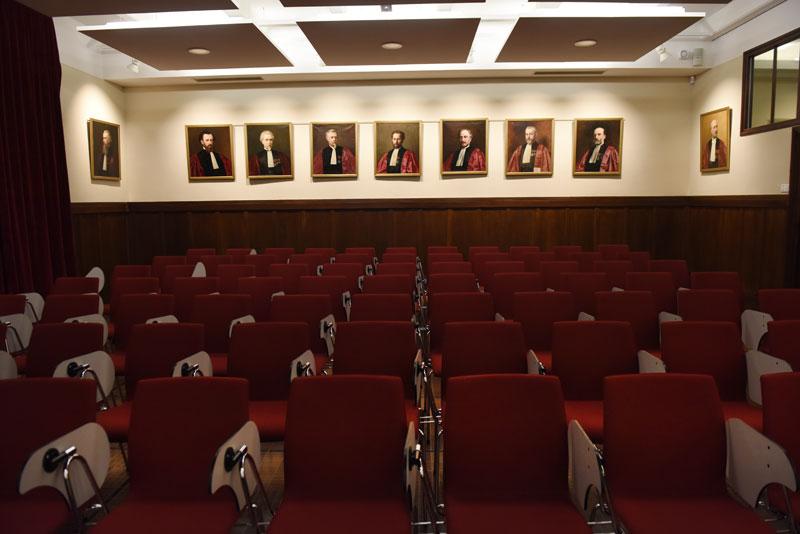 Salle des thèses © Eric Le Roux